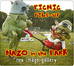 Picnic Pile-Up: Nazo in the Park